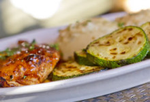 Marinated Grilled Chicken with Zucchini